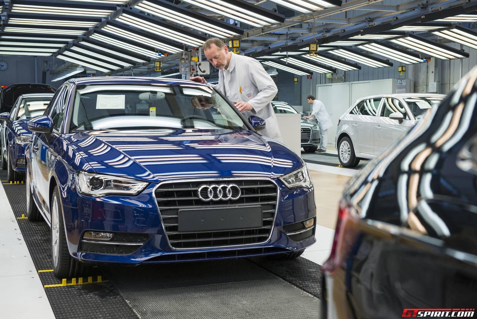 Завод Audi в Германии