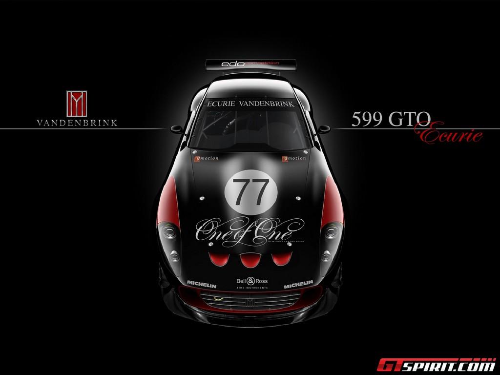 Ferrari 599 GTO Mobil,Tercepat