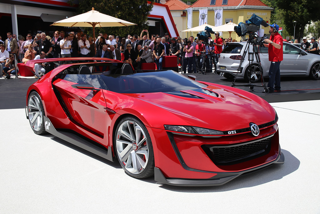 volkswagen gti roadster vision gran turismo revealed at gti meeting. Black Bedroom Furniture Sets. Home Design Ideas