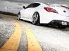White Hyundai Genesis Coupe by K3 Projekt