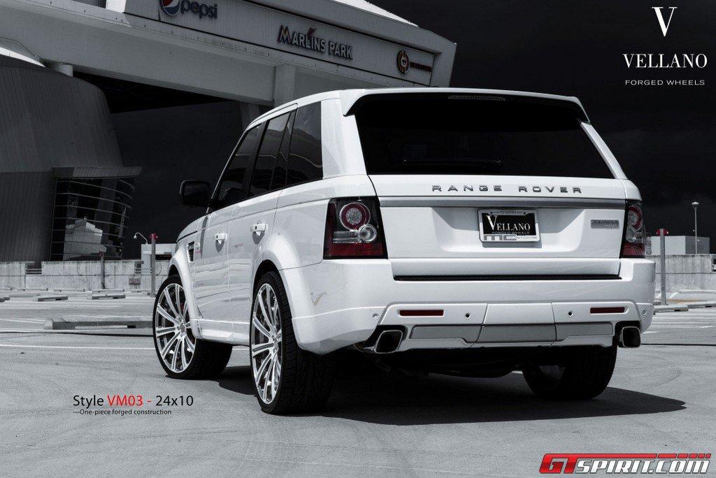 Cars Rides Slabs White Range Rover Sport