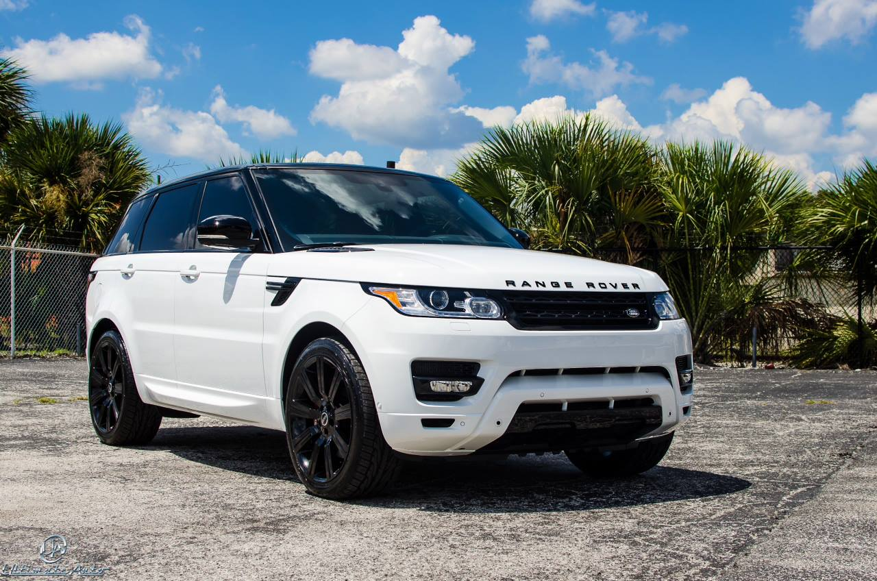 Stormtrooper White Range Rover Sport by Ultimate Auto