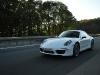 Exclusive White Porsche 911 (991) Carrera S on Autobahn A81
