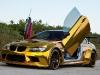 Widebody Golden BMW M3 with Lambo-style Doors