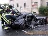 VKU Supersportwagen gerŠt in den Gegenverkehr - 3 Schwerverletzt