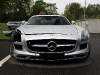 Car Crash Mercedes SLS AMG wrecked in Germany