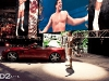 WWE Superstar Alberto Del Rio and his Aston Martin Vantage on D2Forged Wheels