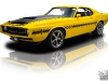 Yellow 1970 Ford Mustang Boss Snake