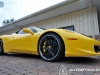 Yellow Ferrari 458 Italia on Modulare C30-DC Wheels