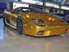 Gold chrome Lamborghini Diablo VT