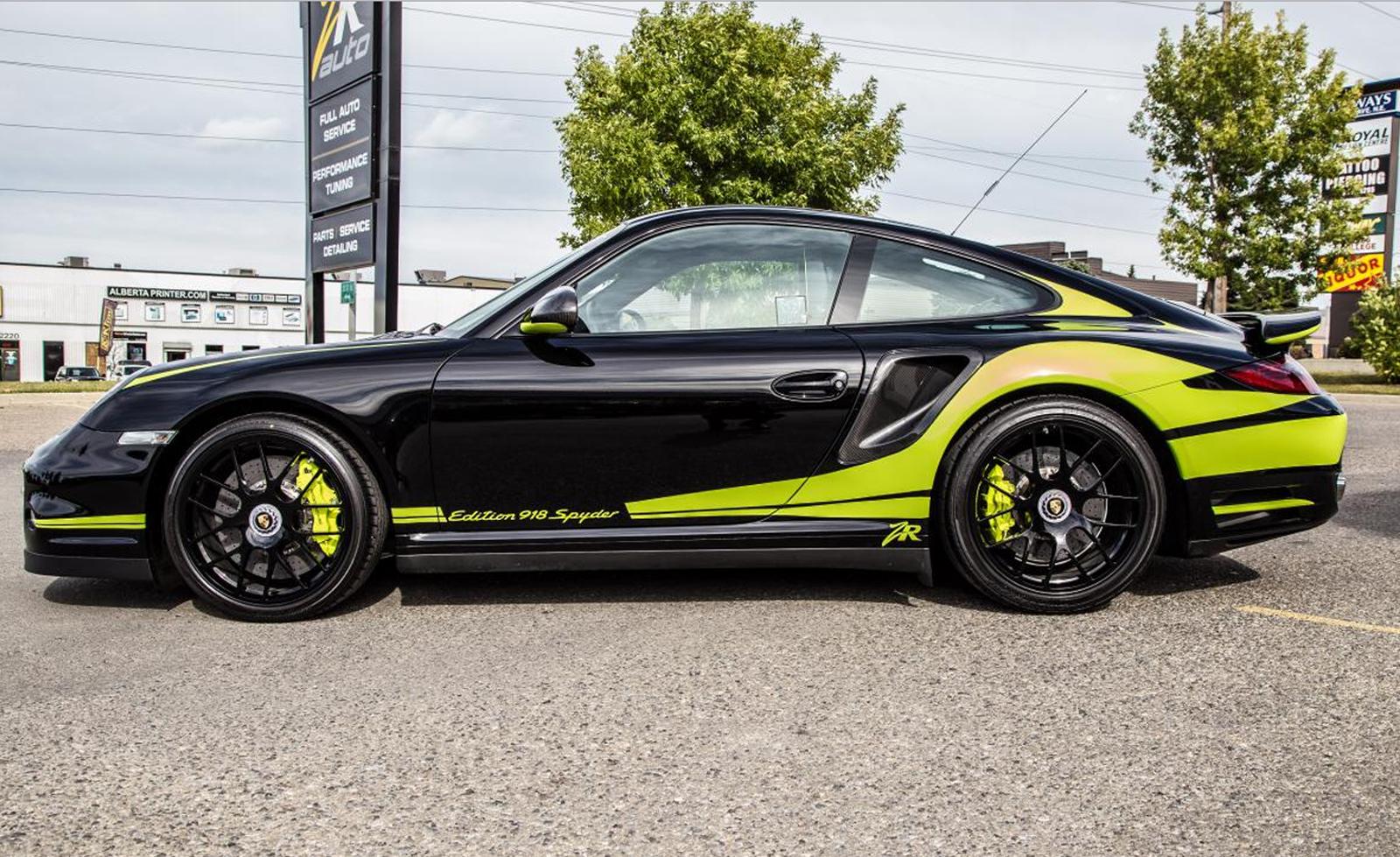 Особый Porsche 911 Turbo S только для покупателей 918 Spyder