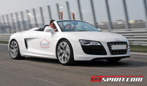 GTspirit Garage Audi R8 V10 Spyder