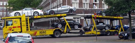 Bugatti Veyron, McLaren SLR 722 Edition, Porsche 997 Turbo Spider, BMW Z8, Bentley Azure & Porsche 996 Turbo