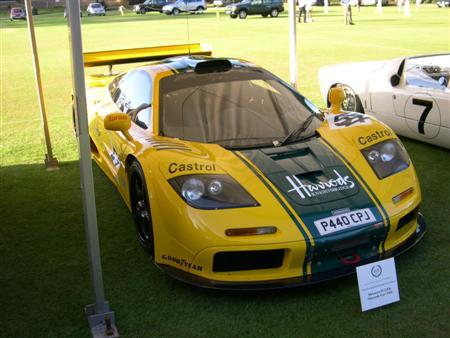 Salon Privé 2008 Harrods McLaren F1