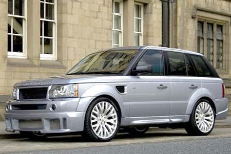 Kahn Cosworth Range Rover Sport