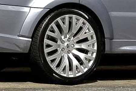 Kahn Cosworth Range Rover Sport Wheels