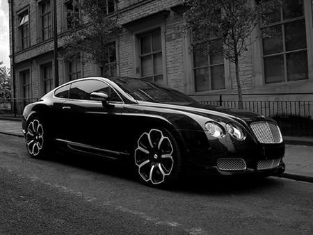 Project Khan Bentley GTS Black Edition