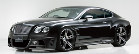 Wald Bentley Continental GT Black Bison