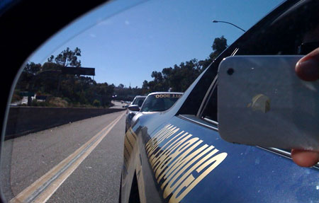 Team Driver Side police escort