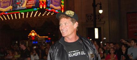 David Hasselhoff in the Gumball 3000