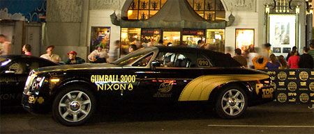 Gumball 3000 in Los Angeles