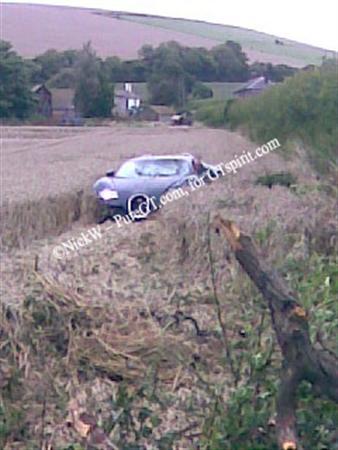 Bugatti Veyron Crash Field