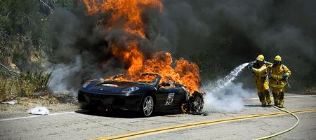 Ferrari F430 Spider Fire