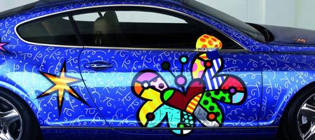 Pop Art Bentley