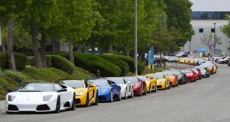 Lamborghini Meeting Los Angelos