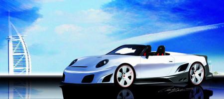 9ff GT9R Convertible