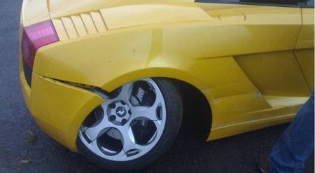 Gallardo Crash - South Africa