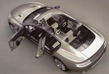 Aston Martin Rapide leak interior small