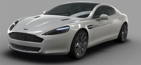 Aston Martin Rapide Rendering