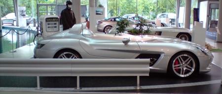 McLaren SLR Stirling Moss at Berlin dealership