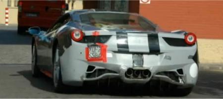 Video Ferrari 458 Italia in action