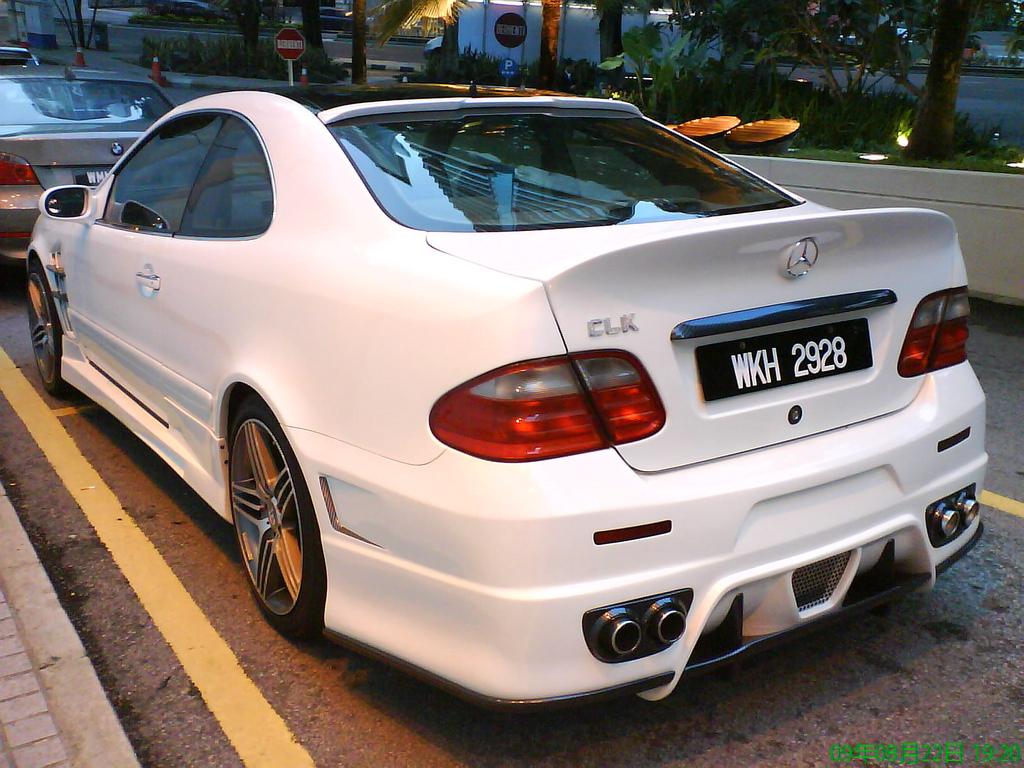 Mercedes CLK W208 Tuning