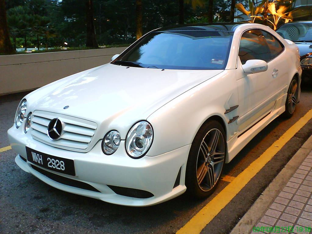 3850860812 3346c8bbdd b Mercedes CLK W208 Tuning