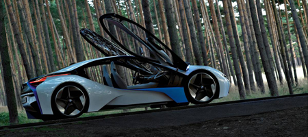 BMW Vision EfficiencyDynamics Concept