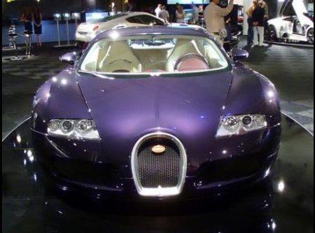 Bugatti Veyron 'purple'
