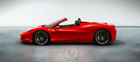 Ferrari 458 Italia Photoshop