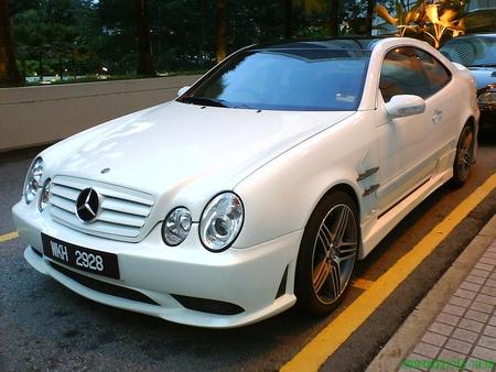 Mercedes CLK Overkill
