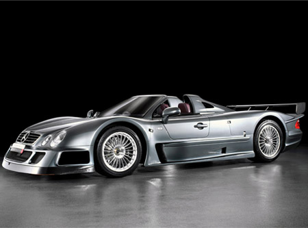 Mercedes-Benz CLK GTR-2. In total, 26 CLK-GTR production road versions were