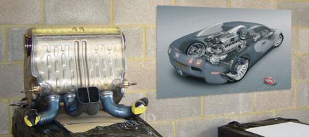 Veyron QuickSilver Exhaust