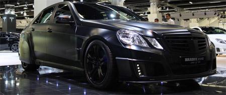 IAA 2009 Brabus E V12 Black Baron GTspirit