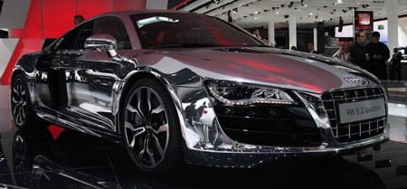 IAA Chrome Audi R V GTspirit - Audi car jobs