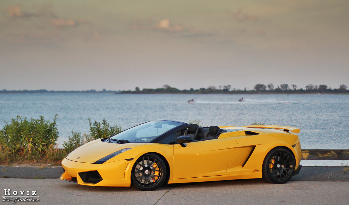 Photo Of The Day Twin Turbo Gallardo Spyder Gtspirit
