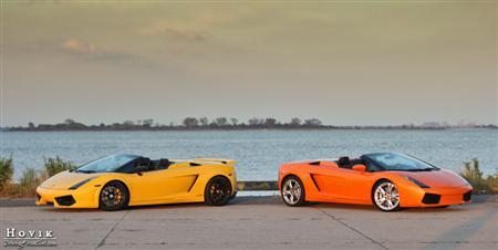 Twin Turbo Heffner Gallardo Spyder & Lamborghini Gallardo Spider