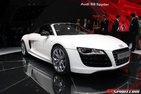 Highlights IAA 2009 Audi R8 Spider V10