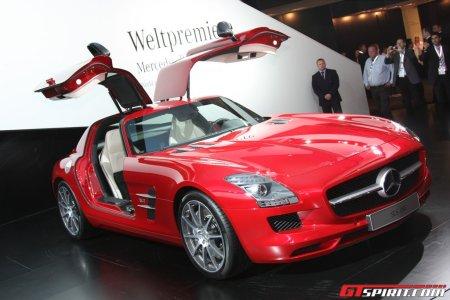 Highlights IAA 2009 Mercedes SLS AMG