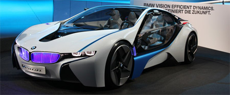 BMW Vision Concept IAA 2009 Frankfurt Motor Show
